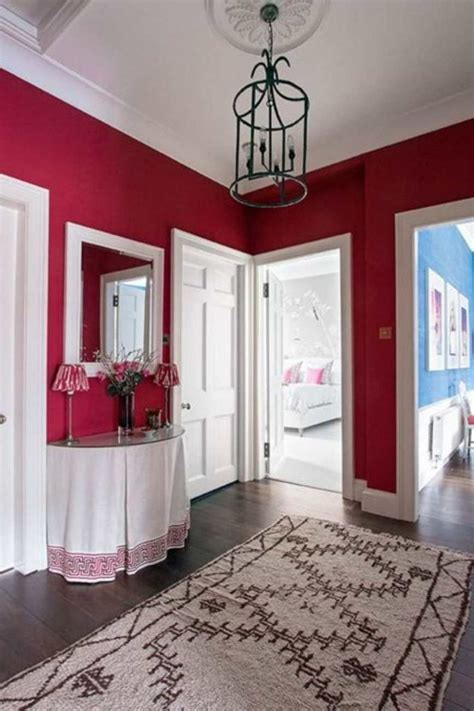 Farrow & Ball Rectory Red Paint Color Schemes   Interiors
