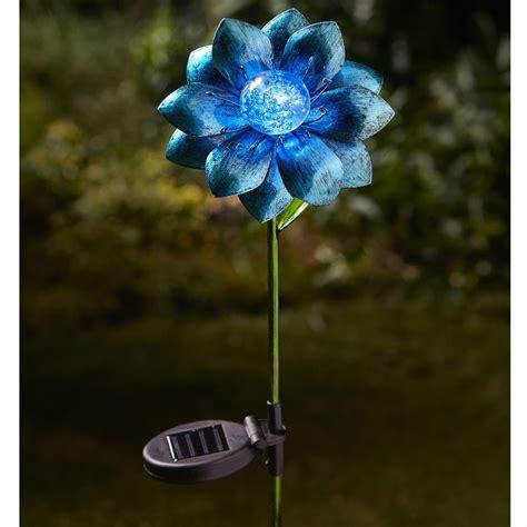 smart solar floral delights stake light   robert