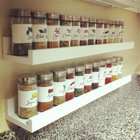 Ikea Wall Spice Rack by 25 Best Ideas About Spice Rack Bookshelves On