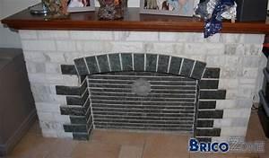 Peindre Des Briques De Cheminée : peinture chemin e marbre recherche d 39 id e ~ Farleysfitness.com Idées de Décoration