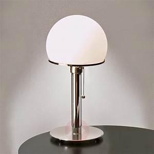 Lampe A Poser : lampe poser originale wagenfeld ~ Nature-et-papiers.com Idées de Décoration