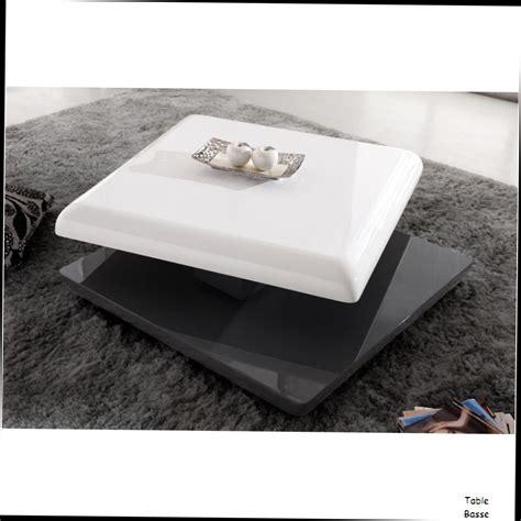 table basse carre blanc laque indogate table de salon blanc laque