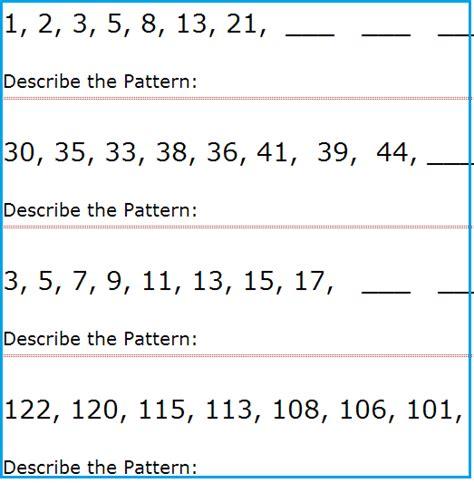 all worksheets 187 grade 1 patterning worksheets free
