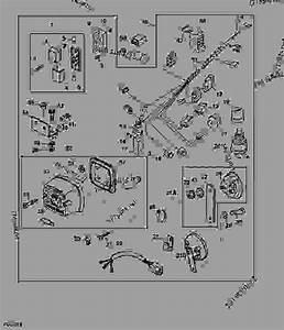 35 John Deere Gator 825i Parts Diagram