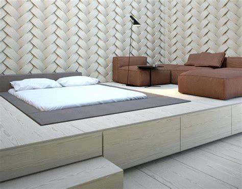 Bett Auf Podest Selber Bauen by Bett Auf Podest Podest Bett Kopfteil Holz Selber Bauen