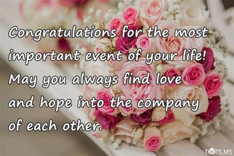 congratulations wishes  marriage quotes messages images  facebook whatsapp picture sms