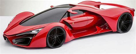 ferrari supercar ferrari f80 sci fi supercar concept arrives from another