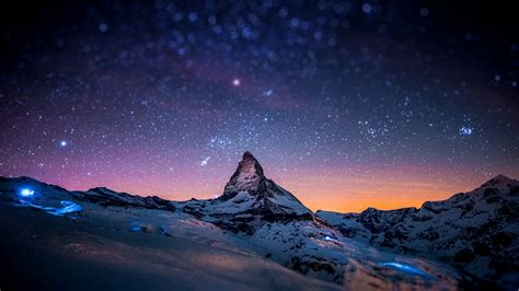 Night View Of Sky Full Of Stars. Nature Wallpapers