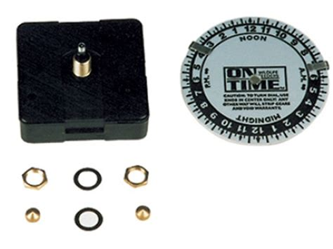 on time replacement game feeder clock kit