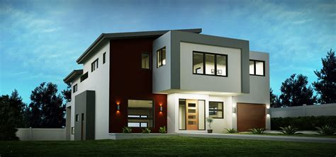 sloping house block designs custom home designs