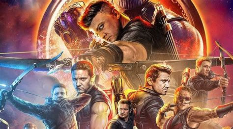 Largely Absent From Promo Material Here The Hawkeye