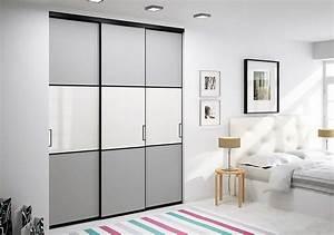Portes de placard coulissantes de chambre sur mesure for Chambre à coucher adulte moderne avec fenetre 3 vantaux coulissant