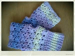 Crochet Fingerless Glove Directions