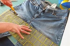 Nähen Aus Alten Jeans : rock aus alter jeans n hen ein schnelles diy projekt cheznu tv ~ Frokenaadalensverden.com Haus und Dekorationen