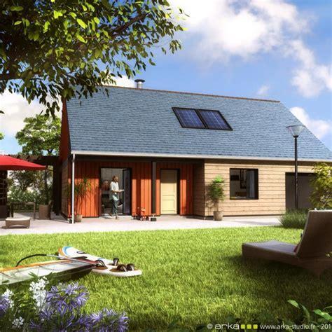 maison bois en bretagne maison rt 2012 en bretagne