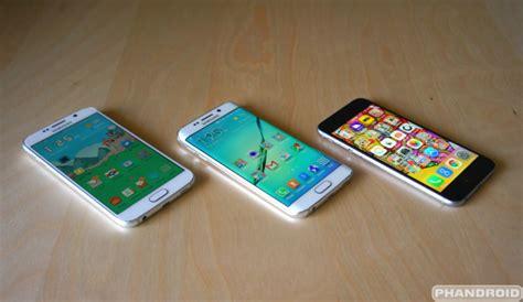 samsung galaxy s6 vs iphone 6 samsung galaxy s6 vs iphone 6 19444