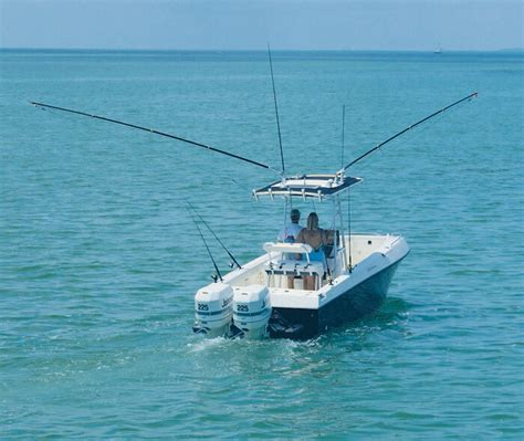Fishing Boat With Outriggers by Grand Slam 380 Outriggers Boat Outfitters