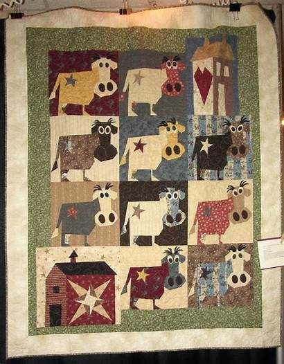 Quilt Patterns Quilts Barn Buggy Farm Cow
