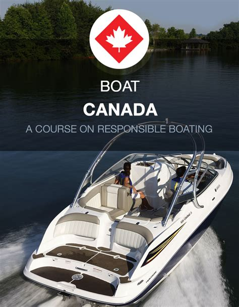 Boating Safety Ontario Canada by Canada Boating License Handbook For Boater Safety