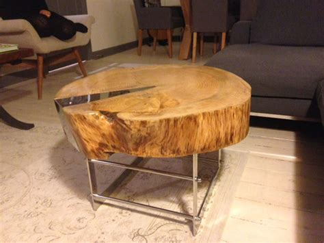 log table and chairs ferrum metal metal chairs tables tree log table