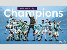 Manchester City Are Premier League Champions As United