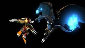 Pokemon vs Digimon on Behance