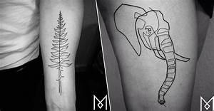 Tatouage Trait Bras : tatouage visage un seul trait ~ Melissatoandfro.com Idées de Décoration