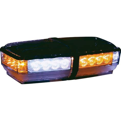 led light bar home depot buyers products company amber clear led rectangular mini