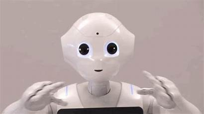 Robot Pepper Robots Emotional Japan Meet Animated