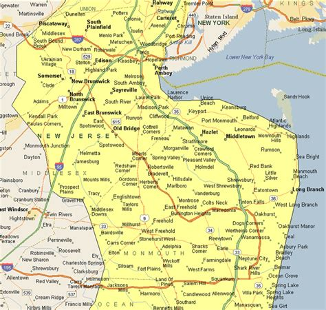 Central Jersey by Our Coverage Area Visiting Physician Services