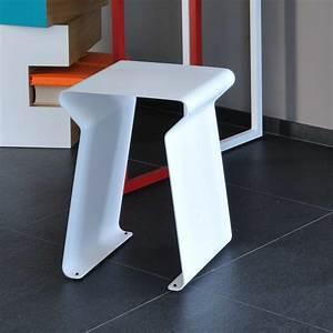 Tabouret Bas Design : tabouret bas design achat vente tabouret fun acier matire grise ~ Teatrodelosmanantiales.com Idées de Décoration
