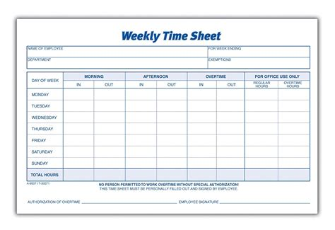 weekly employee time sheet blank monthly time sheets calendar template 2016