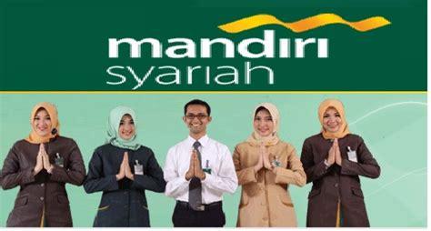 lowongan kerja bank syariah mandiri november