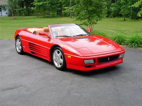 1994 Ferrari 348 Spider 20k Miles Pristine Red/tan