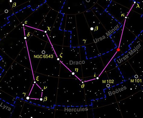 overhead shower draco constellation facts about the