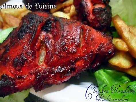 cuisine indienne poulet tandoori amour de cuisine