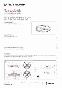 Merrychef Eikon E4s Service Manual