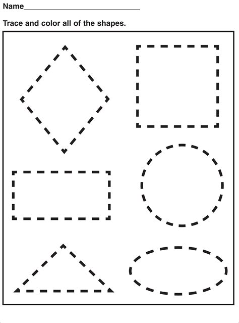 shapes for preschoolers to cut out pre k shapes worksheets printable kiddo shelter 970