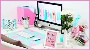Coole Sachen Fürs Zimmer : diy desk makeover s e n tzliche organisation dekoration f r deinen schreibtisch youtube ~ Sanjose-hotels-ca.com Haus und Dekorationen