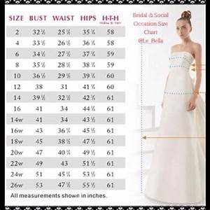 wedding dress size chart gown and dress gallery With wedding dress sizing