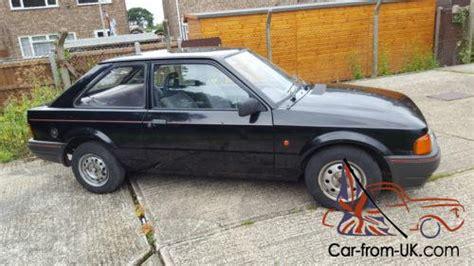 motor auto repair manual 1989 ford escort user handbook 1989 ford escort popular black 2 door model v5 mot 8 owners