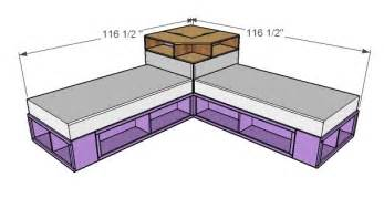 Pottery Barn Sofa Knockoff by Corner Hutch Plans For The Twin Storage Beds