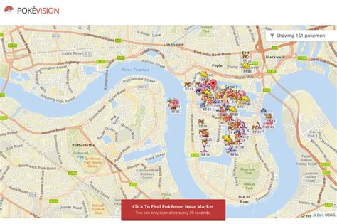 real time pokemon  map   ultimate tool  catching