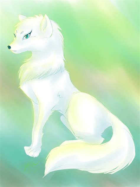 white wolf by 8bitsofmagic on deviantart