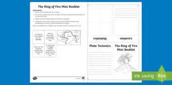ring of mini booklet volcano eruption earthquake