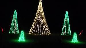 Dancing, Christmas, Tree, Lights