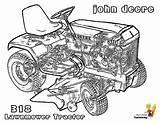 Deere John Coloring Tractor Mower Printable Tractors Garden Yescoloring Daring Printout sketch template