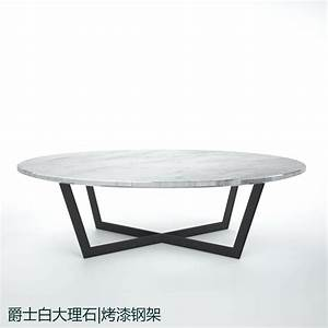 sir custom stainless steel paint white natural marble oval With white marble oval coffee table