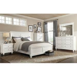 bridgeport 5 piece queen bedroom set white the brick