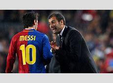 Messi habla de Pep Guardiola